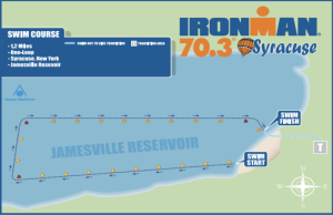 Syracuse Swim course